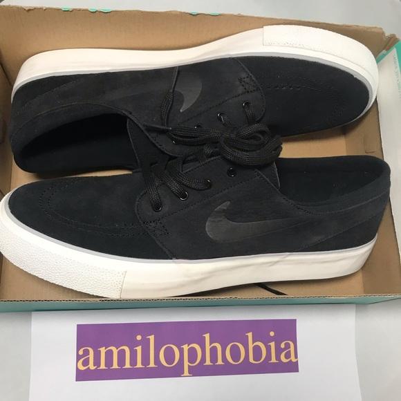 72a5a233f5 New Men's Nike SB Zoom Janoski HT Size 11.5 Black NWT